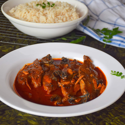 Kerala Fish Curry with Rice