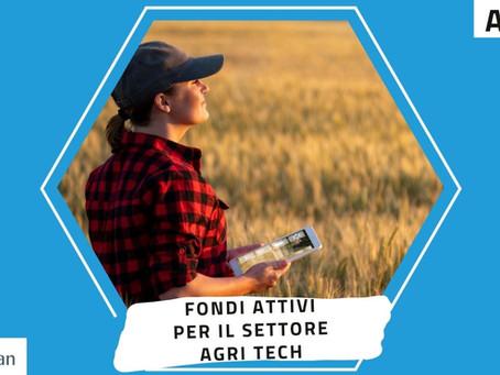 Fondi attivi per AgriTech