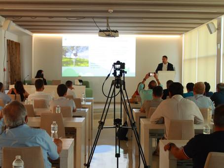 Elaisian presenta i benefici della sua tecnologia nell'oliveto in Spagna