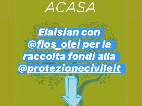 ELAISIAN CON FLOSOLEI #IORESTOACASA