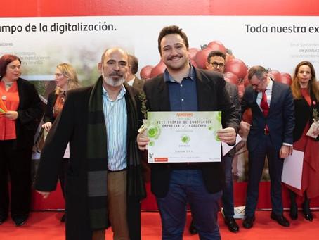 """Elaisian - Premio all' """"Innovazione aziendale Agroexpo Feria Internacional"""""""