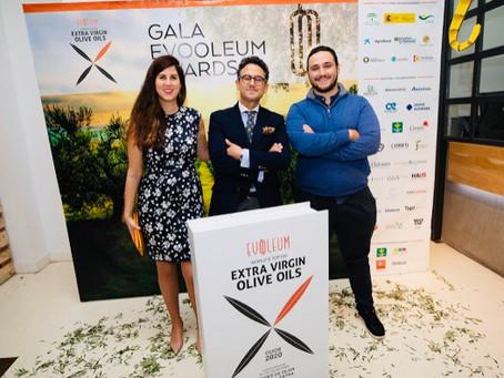 Gala per la consegna dei premi EVOOLEUM Awards