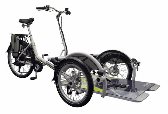 Vélo transporteur 2 places VAE