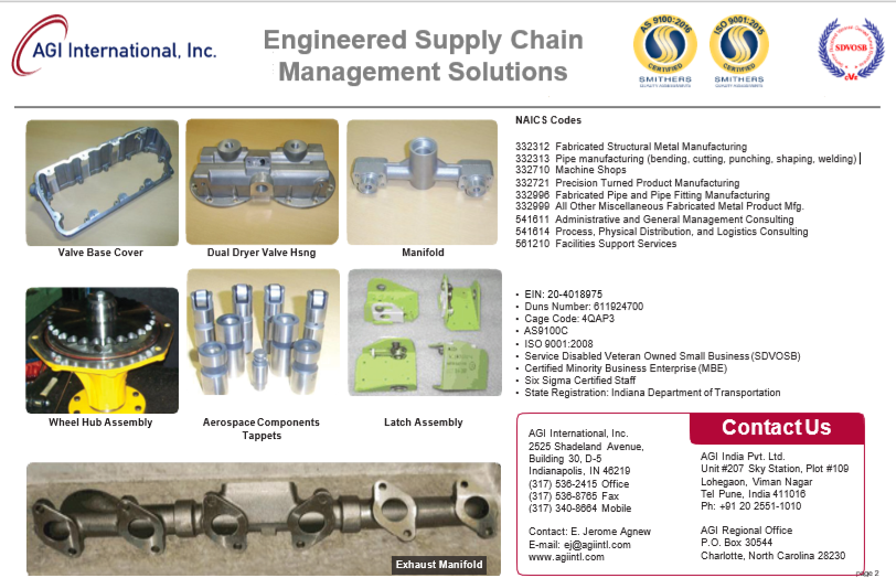 AGI-Supply Chain - Page 2- Updated 6-201