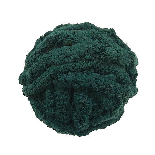 Chenille verde obscuro