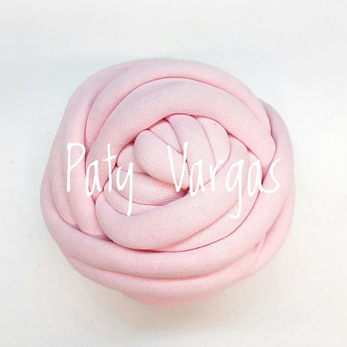 Maxi cotton rosa pastel