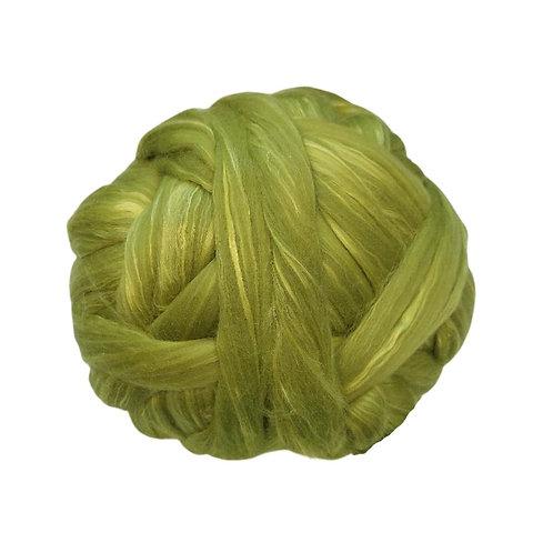 100g Merino - seda verde