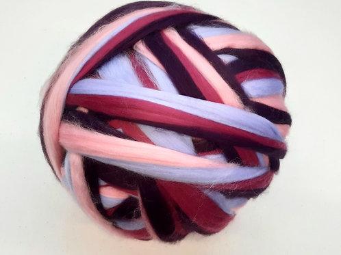 100gr  Multicolor rosa-lila