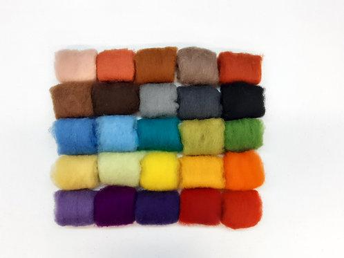 Paquete de 25 colores de pelo corto