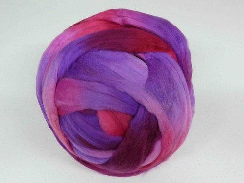100gr merino Multicolor rosas-lilas