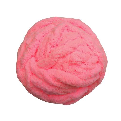 Madeja chenille rosa chicle