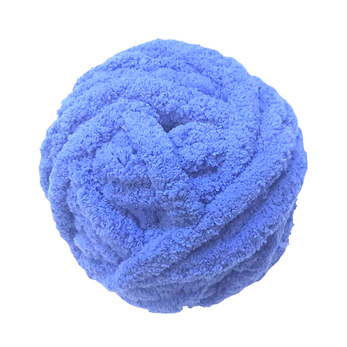 Madeja chenille azul violeta