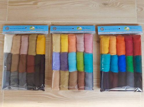 Paquete de15 colores merino