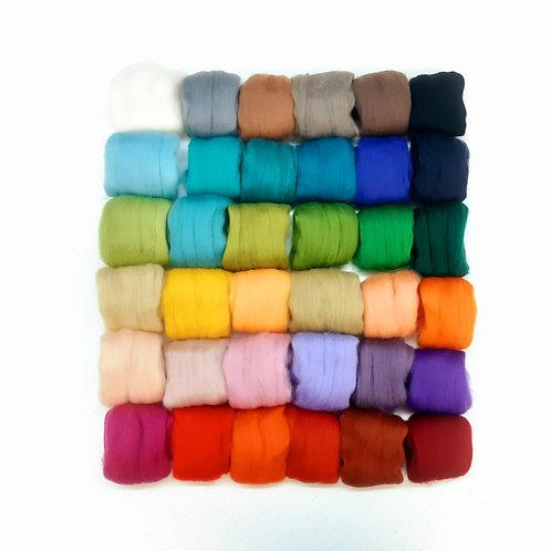Paquete de 36 colores merino