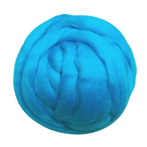 100gr merino Azul pavoreal