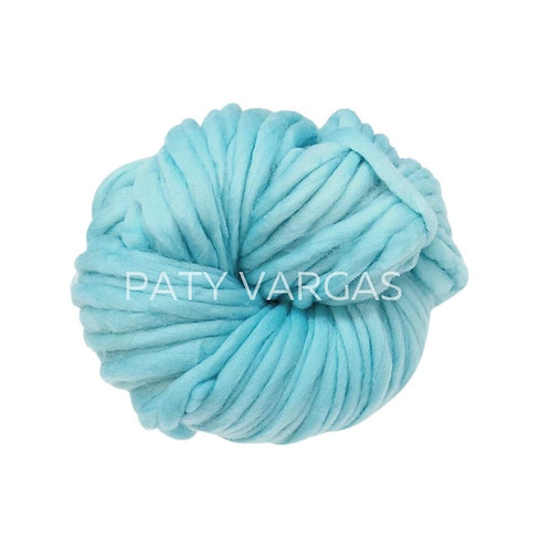 Lana vegana Azul pastel
