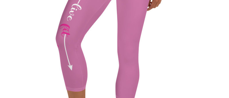 Live Fit, Live Empowered, Live Unstoppable Women's Fitness Leggings