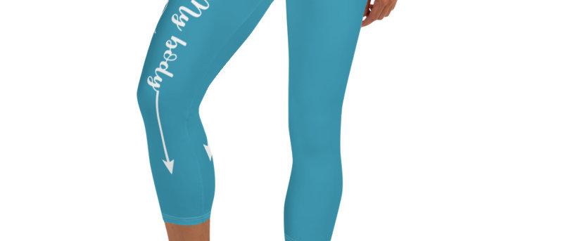 My Body, My Fitness Goal, My Way Women's Fitness Leggings