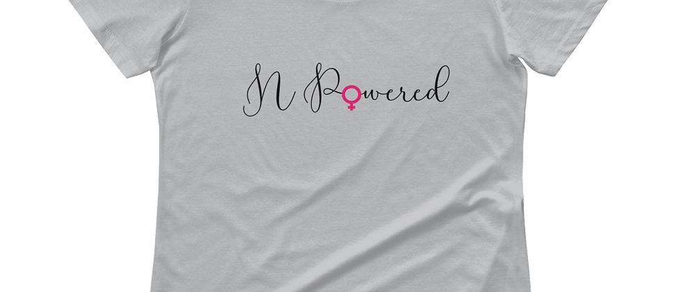 N- Powered Ladies' Empowerment Scoopneck T-Shirt