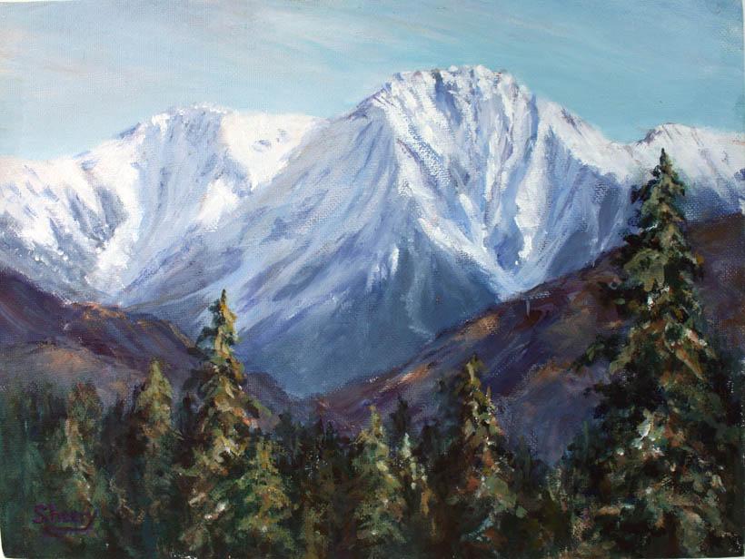 Chisel Peak 12x9 oil