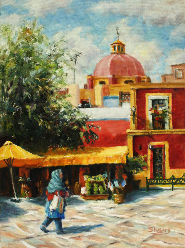 Mexico Memories 9x12 oil