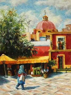 Mexico Memories 9x12 oil