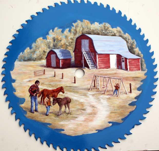 Roxann Farm 22'sawblade