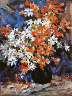 Bouquet Beauty 6x8 acrylic