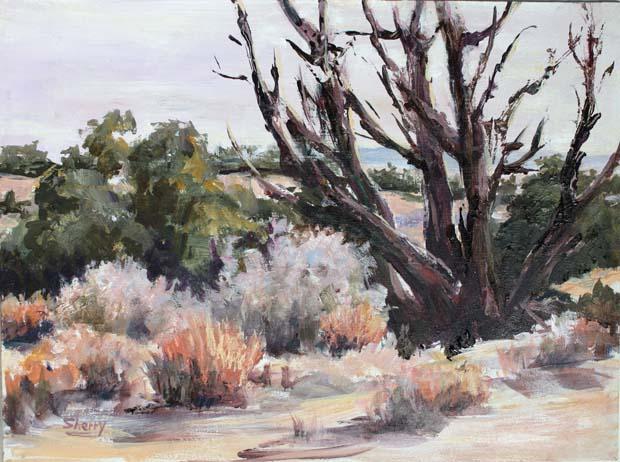 Okanagan Outback 12x9 Acrylic