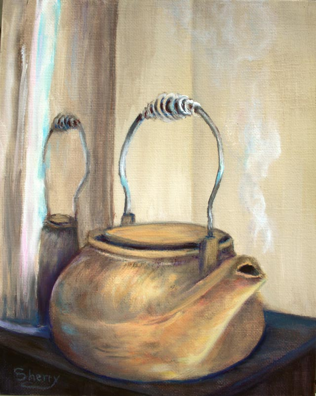 Copper Kettle-8x10 oil