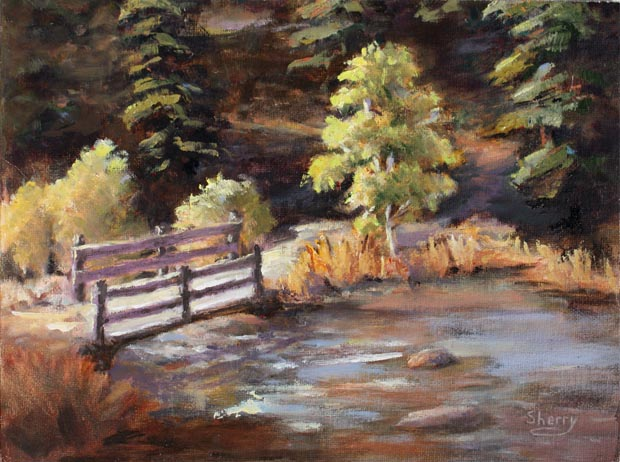 Enid Trail 12x9 Oil