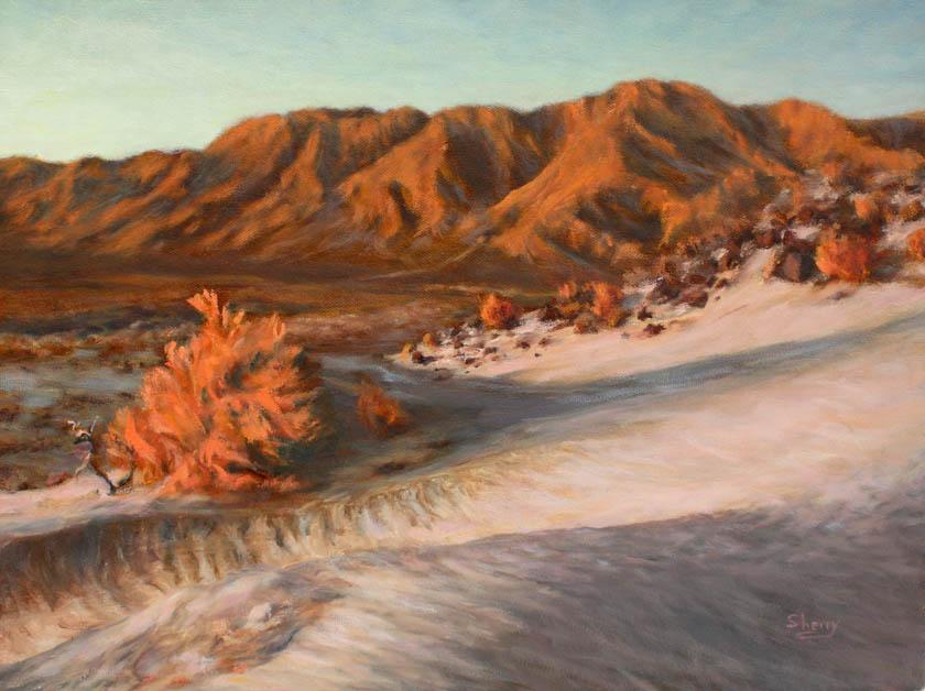 Desert Glow 16x12 oil