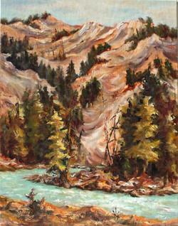 Horsethief Hills 11x14 Oil