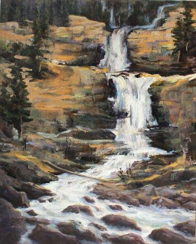 Falls jasper 16x20 Acrylic