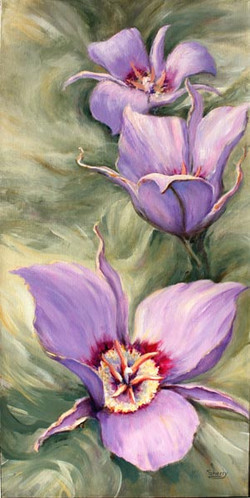 Spring Fling 15x30 Acrylic