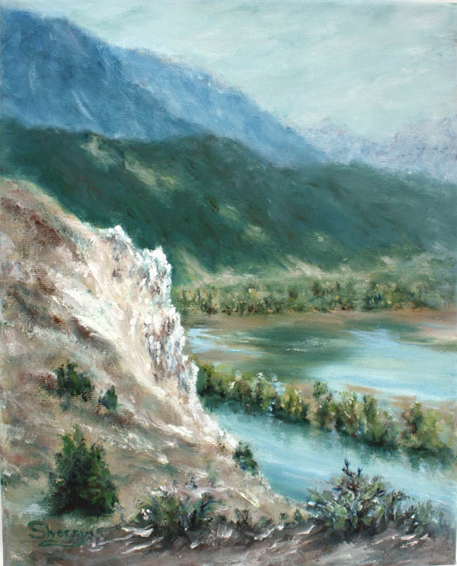 Springs River Bend 8x10 oil