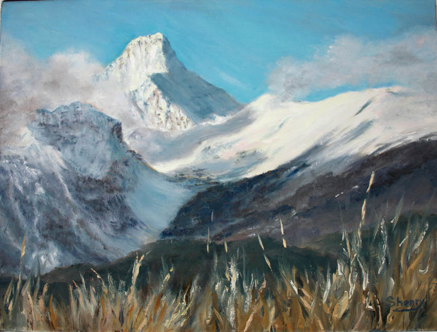 Majestic Mt Nelson 16x12 oil