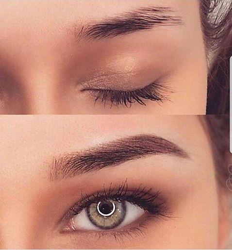 Powder Eyebrows