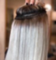 braidless-weave ins hair extensions