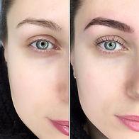 barrie eyebrow tint