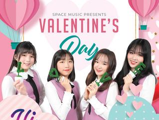 풋풋한 소녀들의 달콤한 사랑 고백! 하이큐티(HI CUITE)의 발렌타인데이(Valentain's Day)
