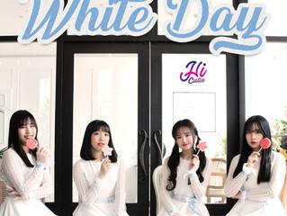 풋풋한 소녀들의 달콤한 사랑 고백! 하이큐티(HI CUITE)의 발렌타인데이(Valentain's Day) 의 후속곡 화이트데이(White Day)