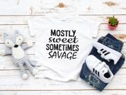 Mostly sweet sometimes savage