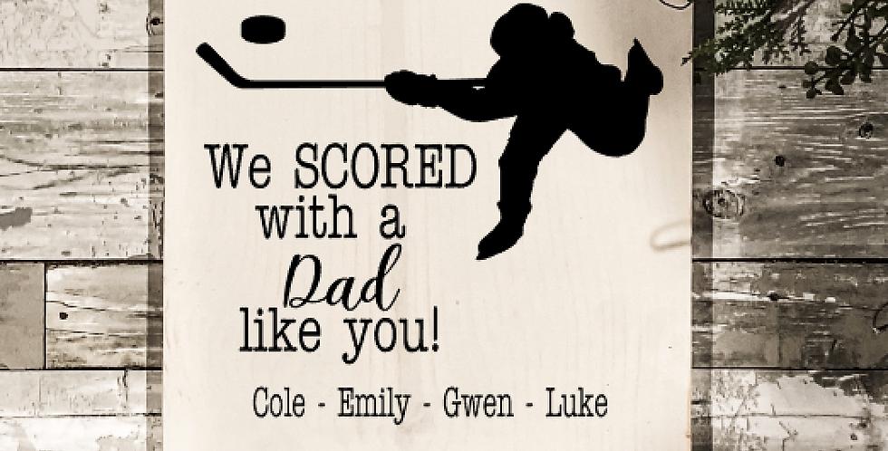 Hockey Father's Day Take & Make Kit
