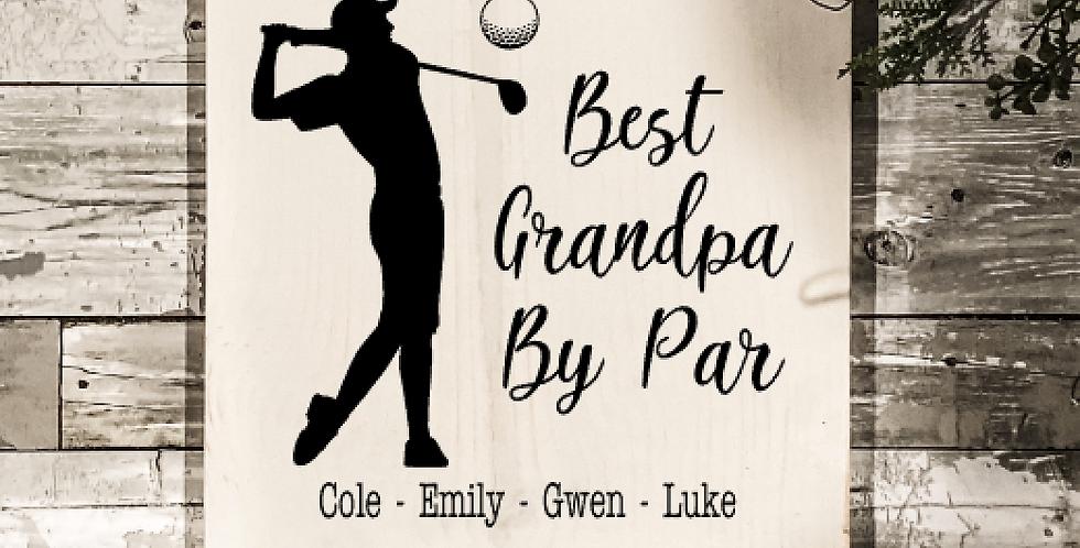 Golf Father's Day Take & Make Kit