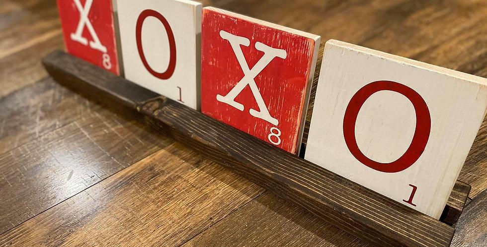 Double Sided Scrabble Tile Set