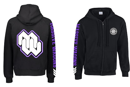 Purple ZipUp Hoodies - 2020