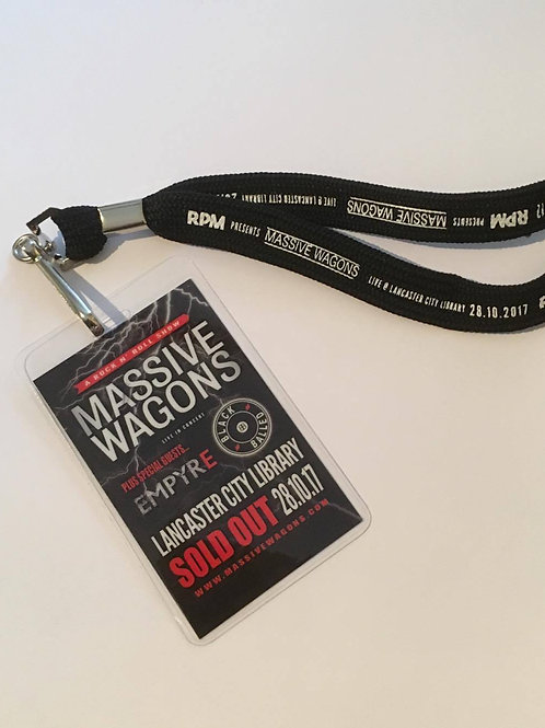 Lancaster Library Official Gig Lanyard