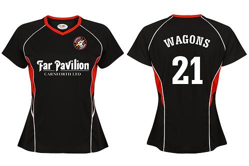 Ladies Team Wagons 'Changes' Football T-shirts