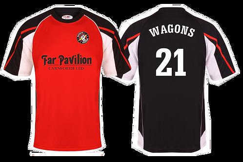 Mens Team Wagons 'Changes' Football T-shirts